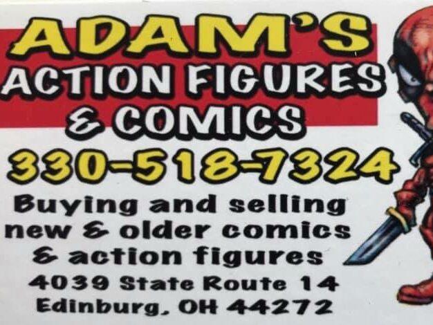 Adam's Action Figures and Comics